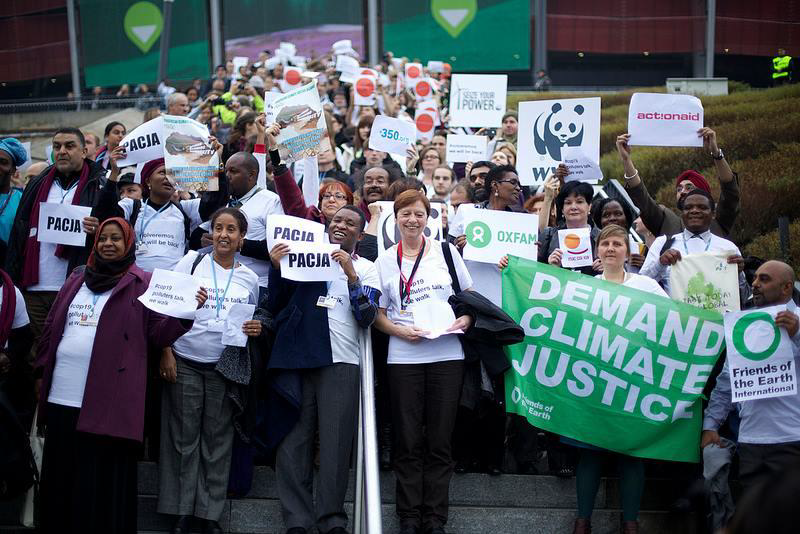 COP19 green activists  FYEG walk out civil society