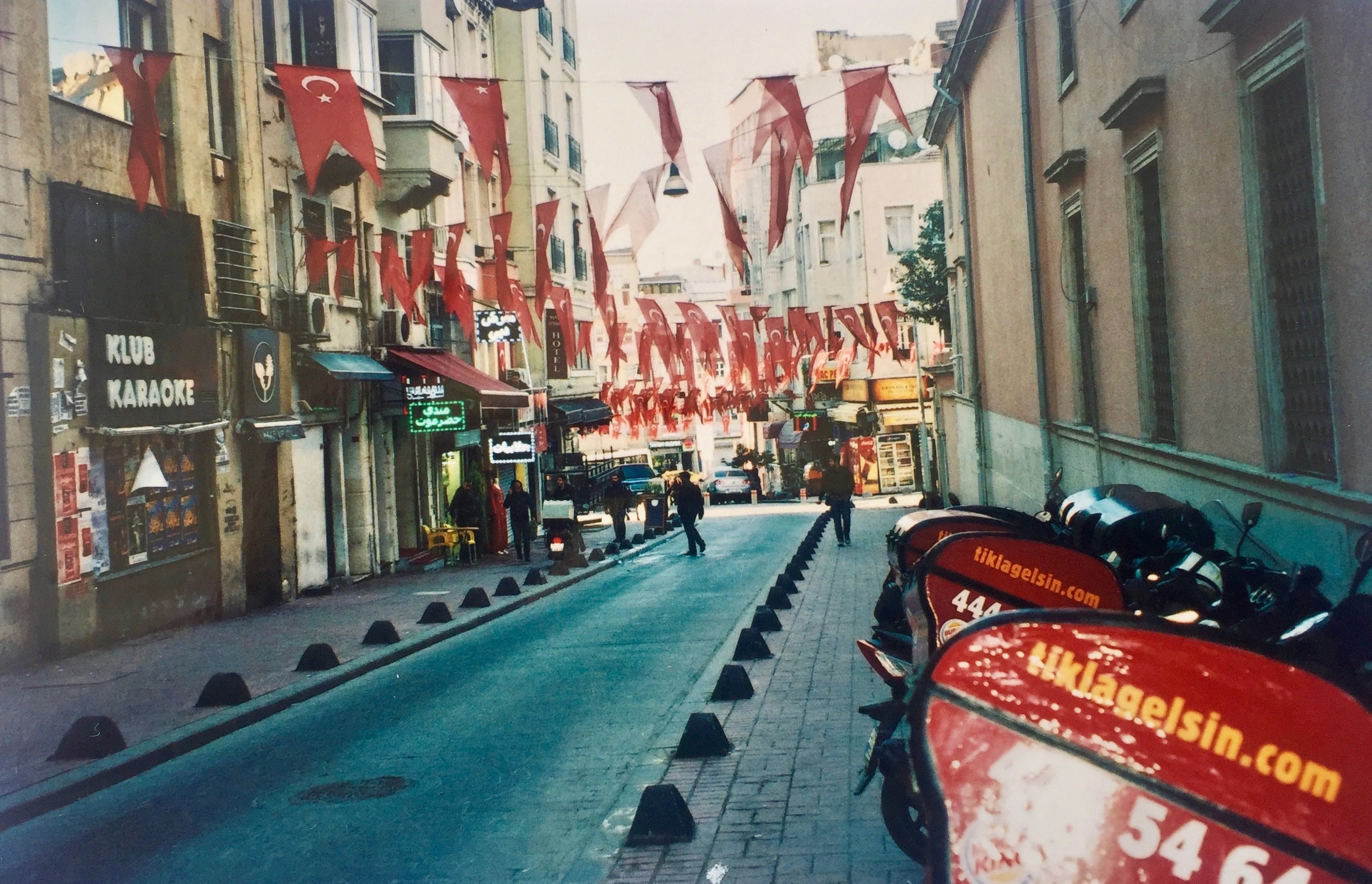 streets in istanbul