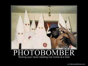 Kkk-photobomber