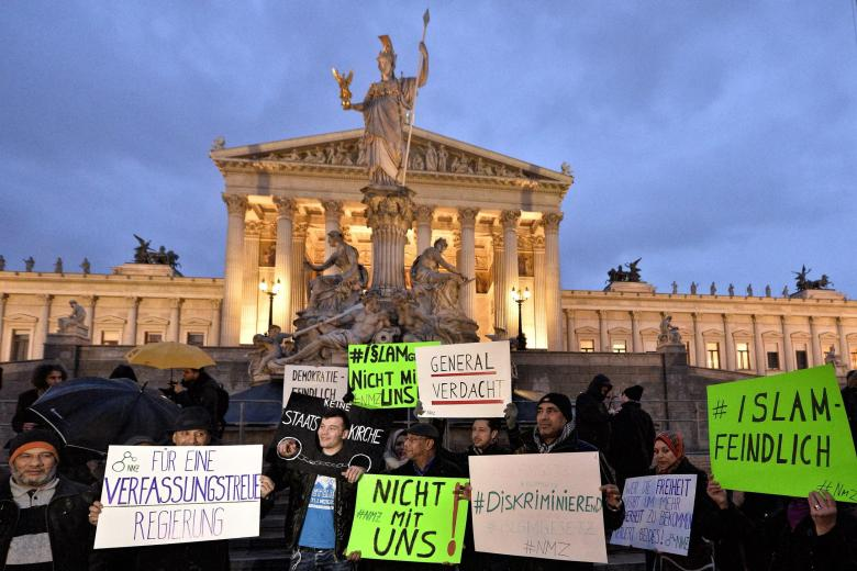Protest-in-Vienna