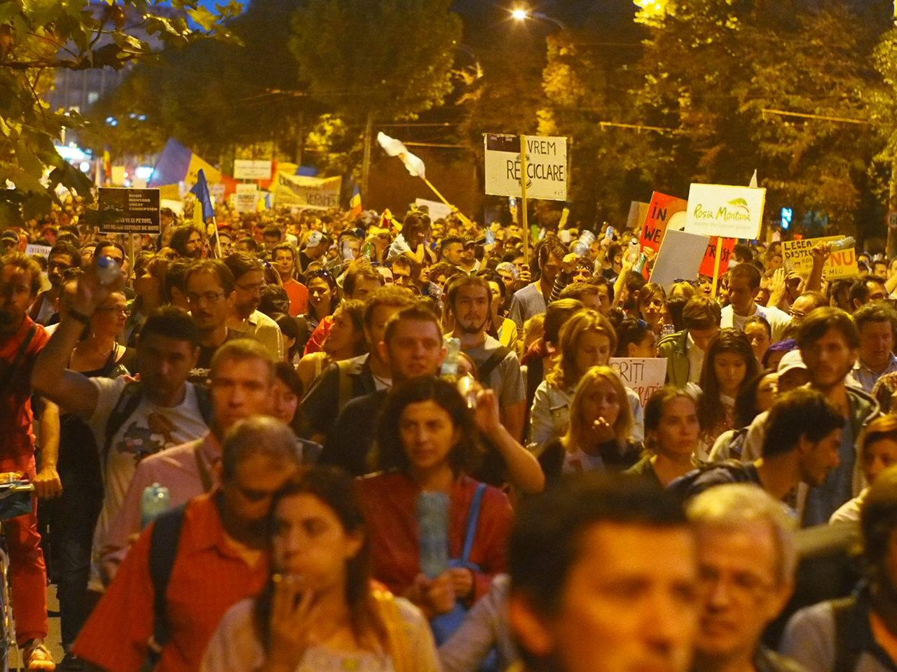 protest (foto - Daniel Vrabioiu)